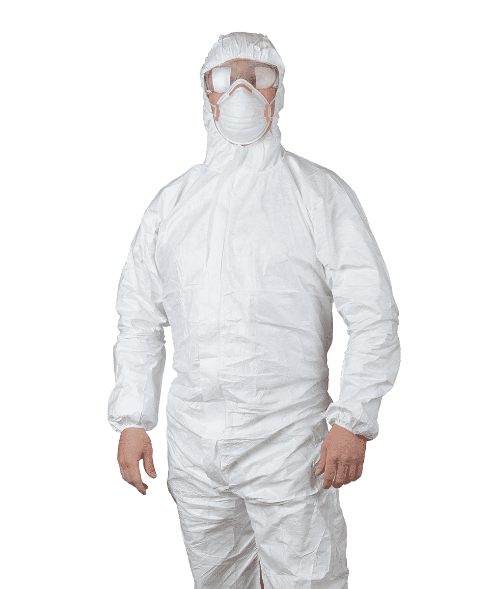 Cleanroom protective suit